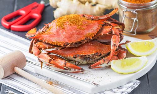 Vin til krabbe
