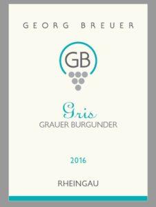2016 Gris etikett