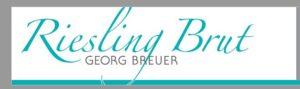 Riesling brut etikett