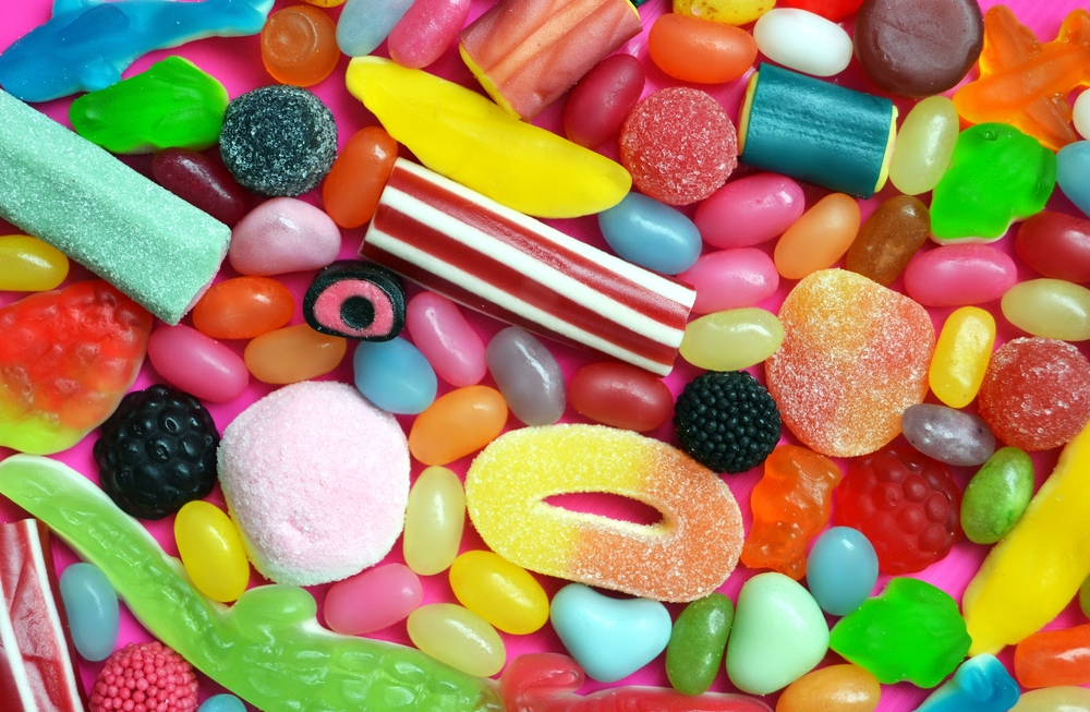 surt godteri